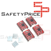 KIT CNC SHIELD Board v3 + 4x A4988 Stepstick Arduino Stepper Motor 3D Impresora