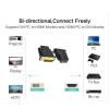 ADAPTADOR CONVERSOR HDMI HEMBRA A DVI (24 + 1) MACHO