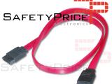 Cable de datos HDD SATA 2.0 45 cm Rojo