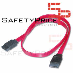 Cable de datos HDD SATA 2.0 45 cm Rojo