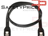 Cable de datos HDD SATA 3.0 6 Gbp/s 40 cm NEGRO