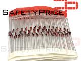 40x Diodos Rectificadores 1N4148 100V 200mA DO-35 Baja Señal Alta Velocidad