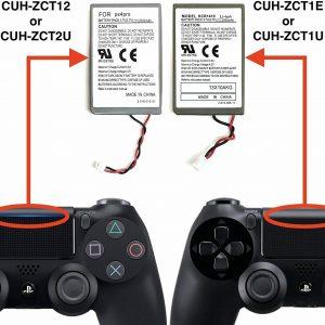 BATERIA REPUESTO MANDO PS4 PRO V2 CUH-ZCT2 3.7V 2000MAH LI-ION + CABLE USB