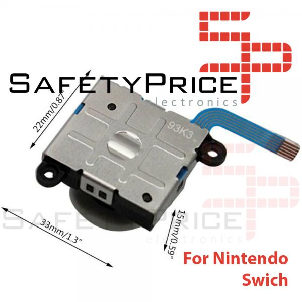 Joystick Mandos Nintendo Switch Joy-Con Flex Stick Joycon Movimiento Repuesto