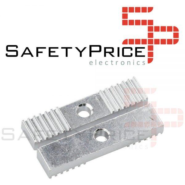 Pack 2 Piezas de fijacion correa dentada abrazadera 2 mm 9x40mm impresora 3D CNC