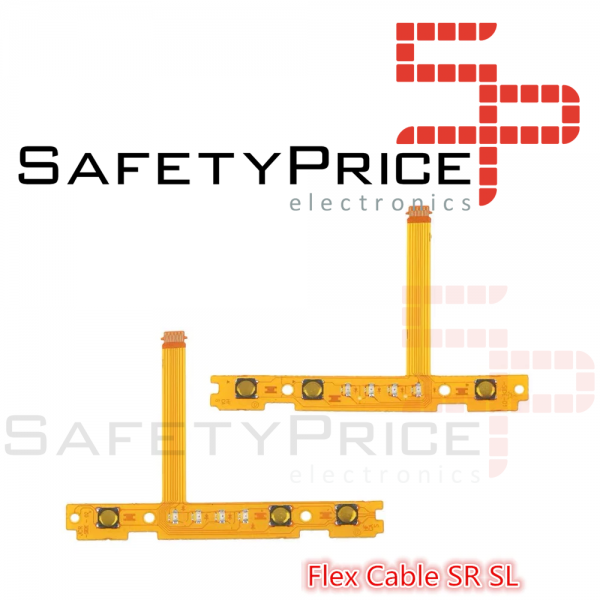 Cable flexible tecla boton SL + SR interruptor Nintendo Switch JoyCon SYNC Flex IZQUIERDA + Derecha