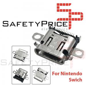 Conector Carga Nintendo Switch Puerto Corriente USB C Socket Repuesto