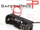 PORTAPILAS 1x 12V23A con cable alimentacion PCB battery holder