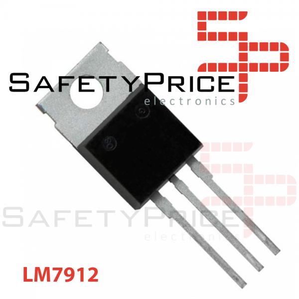 5x Regulador tension negativa L7912CV LM7912 7912 12V TO-220