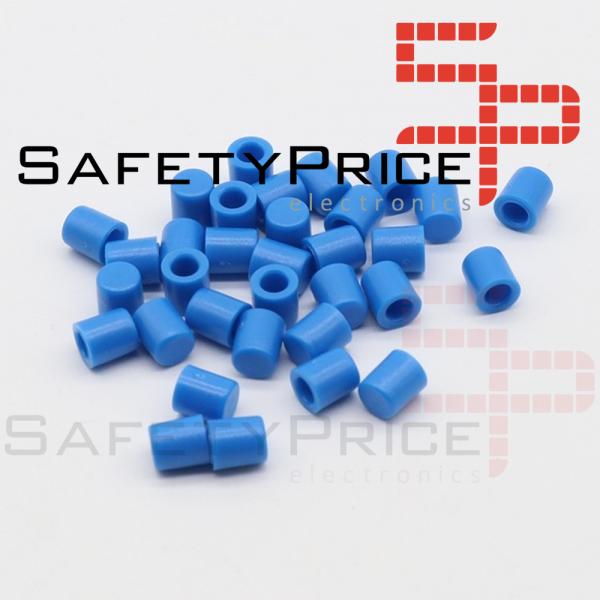 5x Tapon A56 Pulsador Tactil Micro interruptor 6*6 AZUL