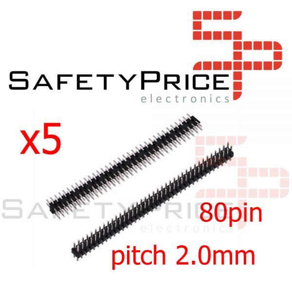 5X TIRA 80 PINES 2x40 2,00 MM