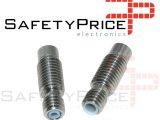 Garganta extrusora V6 Compatible E3D V6 con tubo de teflón 22mm FULL METAL 1.75mm 3mm