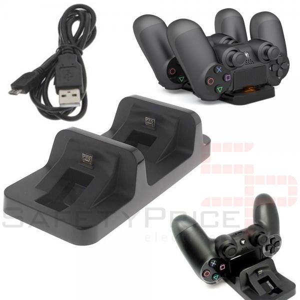 Base de carga para mando PlayStation 4 Dock cargador game controller