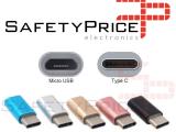 ADAPTADOR NEGRO CABLE MICRO USB A TIPO C NEGRO REF2052