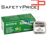 10x Pila Boton SONY Original 379 (SR521SW) 1,55V