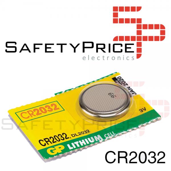 5x Pila de boton GP Speedmaster CR2032 3V