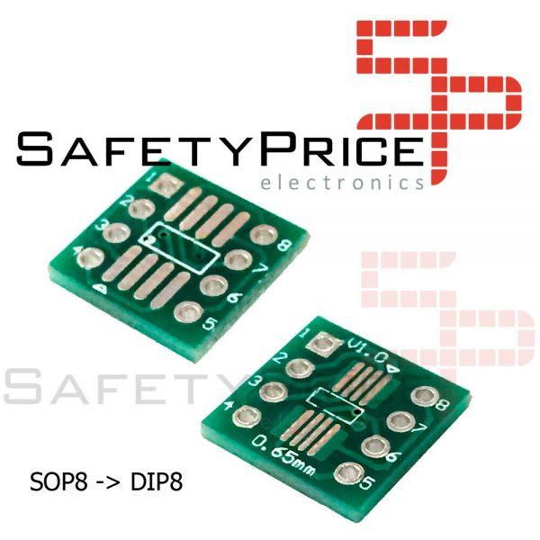 Placa pcb SOP8 a DIP8