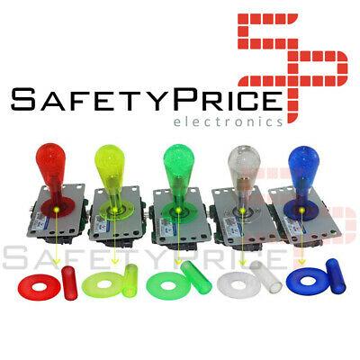 Tubo y arandela protector palanca joystick arcade translucida