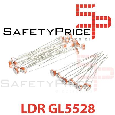 10x FOTORESISTENCIA GL5528 Tipo LDR 10k 1M REF1018
