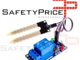 Módulo Relé con Sensor de Humedad del Suelo 12VDC