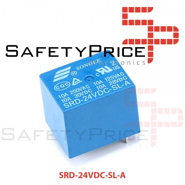 RELE 24V 10A SPDT - SRD-24VDC-SL-A REF2134