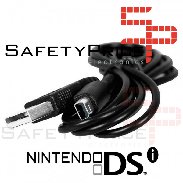 Cable de Carga USB para Nintendo 3DSXL 2DS DSiXL 3DS DSi Cargador 115 cm REF2092