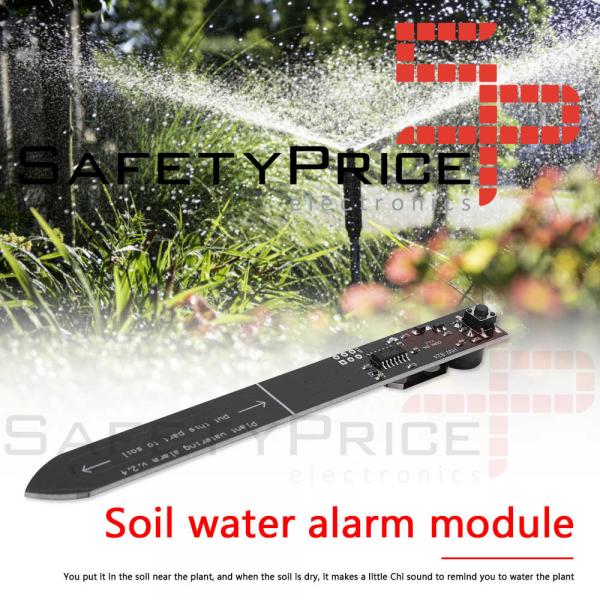 Modulo Sensor de humedad Alarma de riego de plantas HW-824 3V REF2154