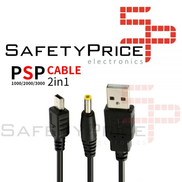 Cable de carga y datos para PSP 1000 2000 3000