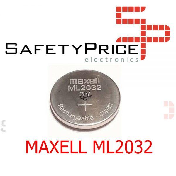 Maxell Ml2032/ML 2032 pila Recargable