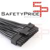 Cable alimentacion 24 pin (20+4) macho a 3x 24 pin hembra mineria REF2236
